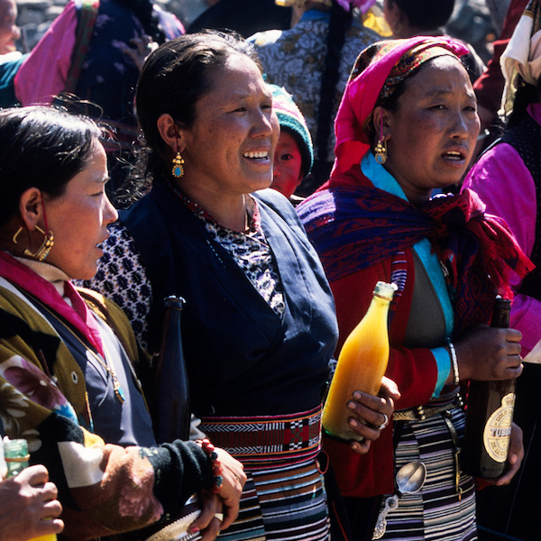 Lhosar Festival by David Cayless